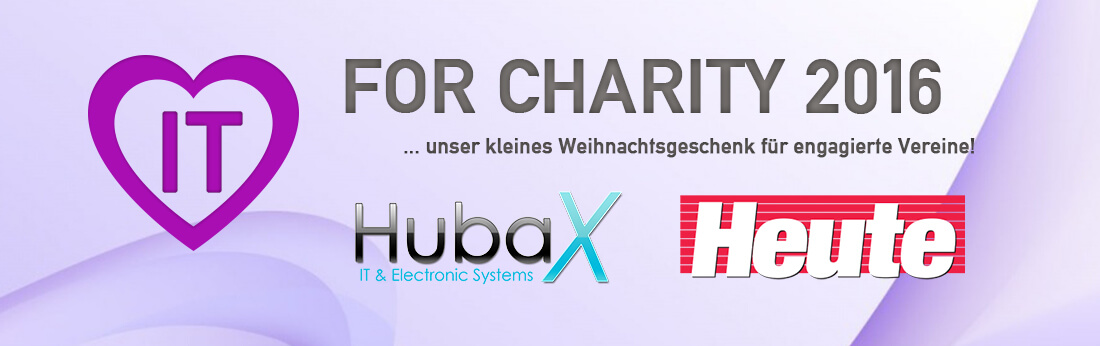 IT FOR CHARITY 2015 by HubaX IT & Heute