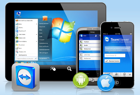 Teamviewer mobile Fernwartung