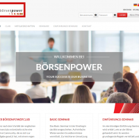 2015: Börsenpower Website