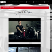 2014: Crossfit St. Pölten Website