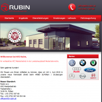 2014: KFZ Rubin Website