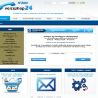 2013: Voiceshop24 Website